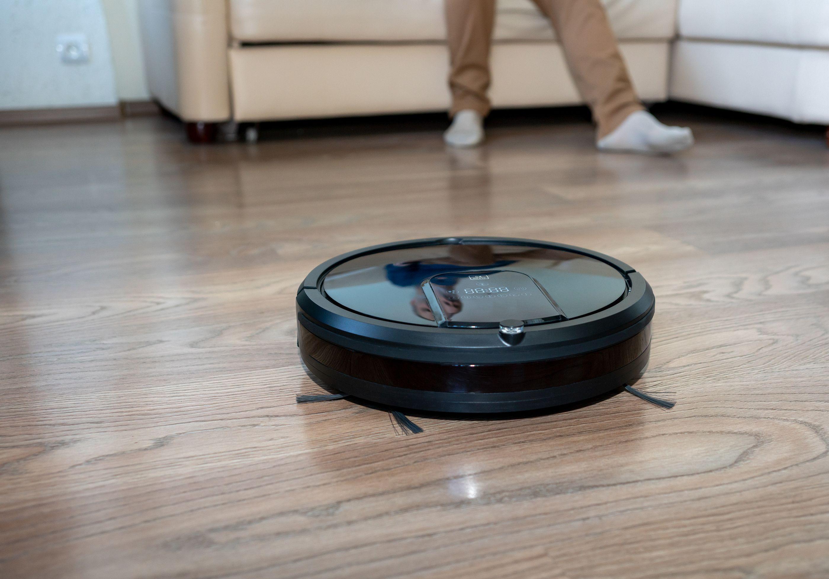 Robot per l'aspirapolvere nelle case