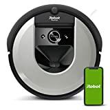 Robot aspirapolvere iRobot Roomba i7156 Alta potenza, Pet friendly, Mappe e si adatta alla tua casa, Programma per stanza, Pulisce per oggetto, Suggerimenti personalizzati, Assistente vocale compatibile.